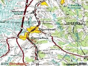 davidson carolina map davidson carolina nc 28115 profile population