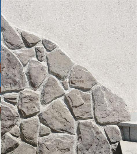 wandgestaltung mit stein verblendstein madera rustikaler kunststein in bruchstein