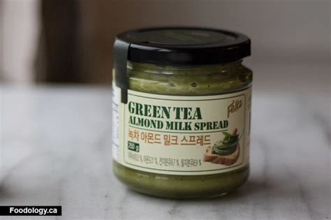 Feliz Green Tea Almond Milk Spread korean green tea milk spread review foodology