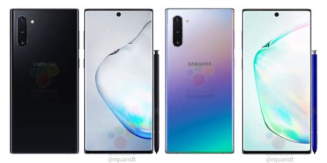 Samsung Galaxy Note 10 At T by Galaxy Note 10 Will Be Powered By New Exynos Same Snapdragon Soc Android Community
