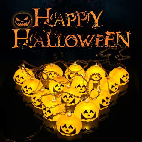 halloween ghost string lights ebluejay halloween ghost pumpkin colorful string lights