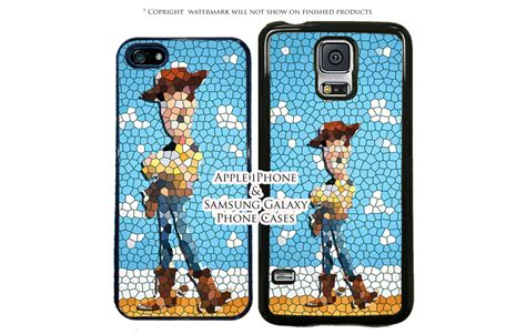 Casing Samsung S7 Edge Stained Glass Custom disney stained glass story woody phone for samsung