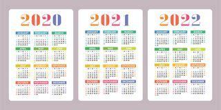 basisnet van de kalender  het vectorzak eenvoudig
