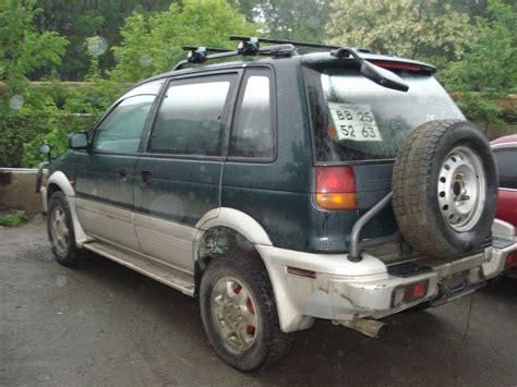 mitsubishi rvr 1995 used 1995 mitsubishi rvr photos 2000cc diesel