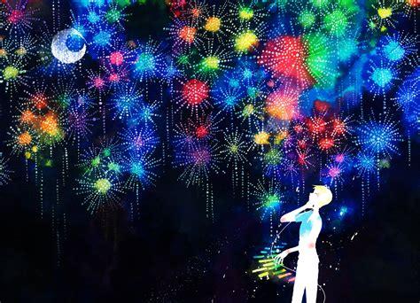 anime fireworks indonesia yoshida yoshitsugi 981446 zerochan