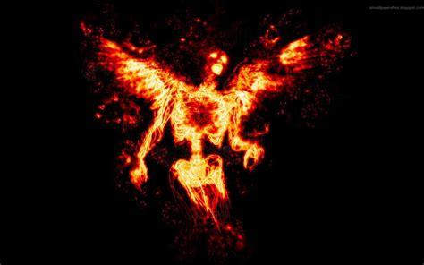 angel  fire  horror  dark art icons
