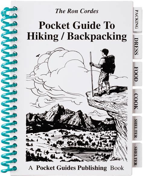 pk01 book hiking backpacking pocket guide
