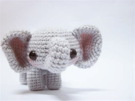 crochet elephant 12 amigurumi patterns to stitch