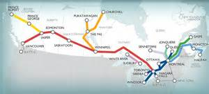 Canada Train Map by 13 Reasons To Ditch Airlines For Via Rail I Backpack Canada