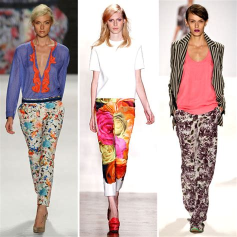 7 ways to wear red shorts this season the idle man asakeoge spring summer 2012 trend floral pants 5 ways