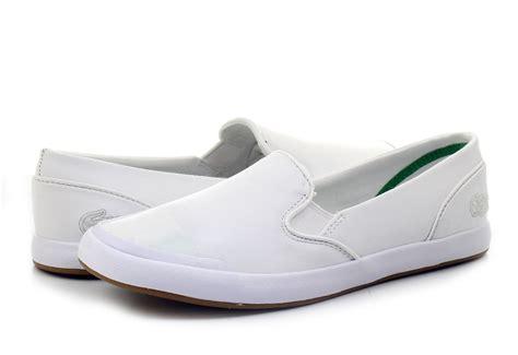 lacoste shoes lancelle slip on lthr 161spw0015 001