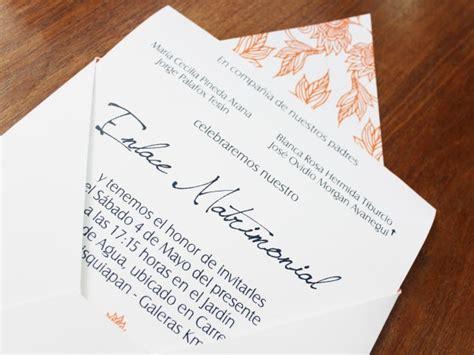 invitaciones de boda por 30 centimos invitaciones boda 20 centimos invitaciones y detalles de papeler 237 a de boda ideas boda bodas mx