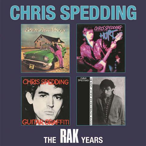 Rak Cd chris spedding the rak years 4cd box set cherry