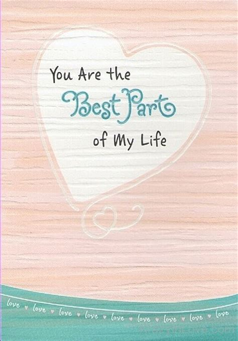 the best of my you are the best part of my
