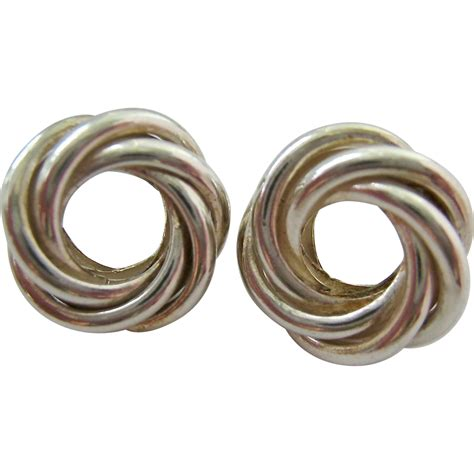 925 Sterling Silver Spiral Earring sterling silver 925 spiral post earrings from susabellas