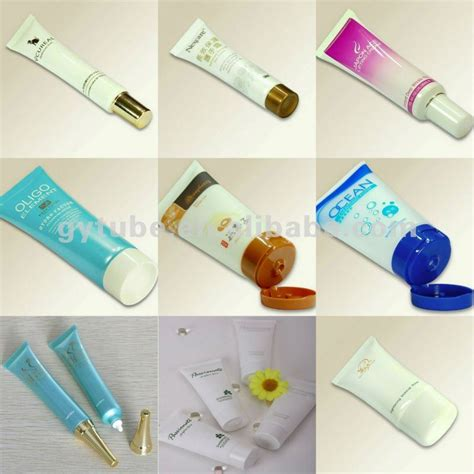 handcream packing lotion containers cosmetic plastic