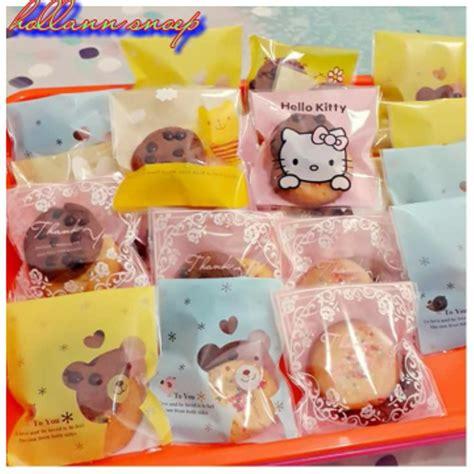Plastik Perekat Cookies Santa Lucu jual kemasan plastik food lucu unik murah di lapak veeda kareena veestore