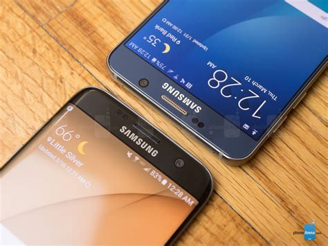 V Samsung Samsung Galaxy S7 Edge Vs Samsung Galaxy Note 5