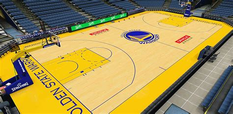 nba 2k14 golden state warriors court hd texture mod