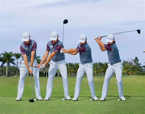 level shoulder turn golf swing swing sequence zac johnson australian golf digest