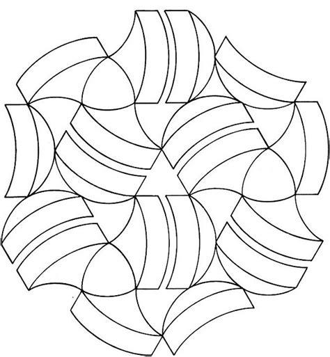 geometric shapes coloring page plaatsen om te bezoeken
