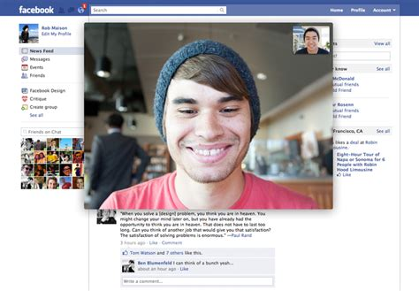 video call layout facebook confirms skype powered video chat launching