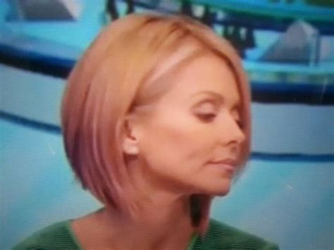 Kelly Ripa Bob Haircut 2014 | kelly ripa haircut 2014 kelly ripa bob my style