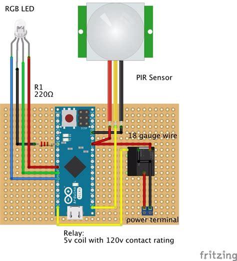 arduino code pir sensor arduino pir motion sensor 4 steps with pictures