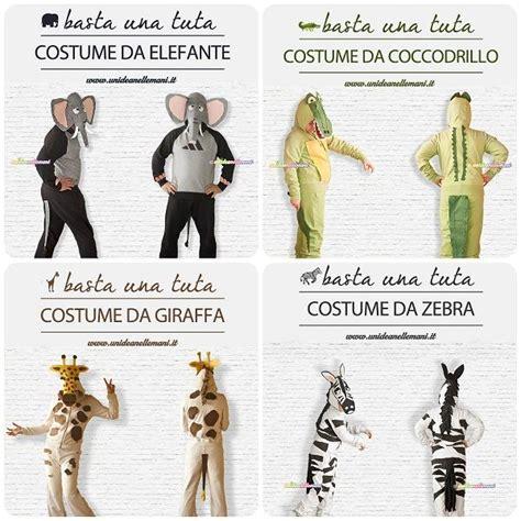 vestiti di carnevale facili da fare in casa costumi carnevale animali fai da te con tuta tutorial