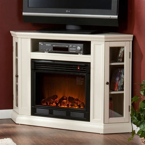 Corner Gas Fireplace Tv Stand by Small Corner Electric Fireplace Tv Stand Enthralling