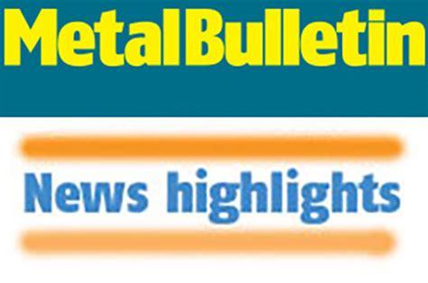 leading provider of global metal & steel prices | metal