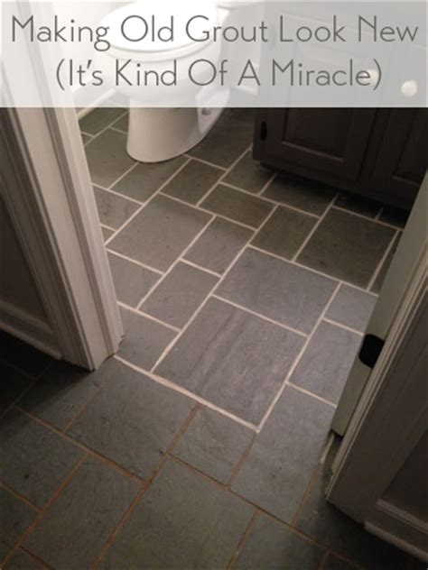 Bathroom Grout Discolored Discolored Grout Look Like New House