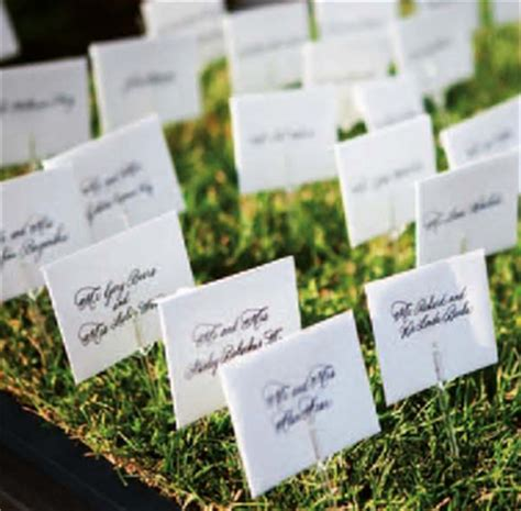 place card ideas please help with ideas of how to display tickets weddingbee