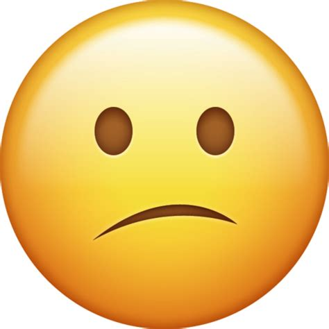 confused face iphone emoji icon  jpg  ai