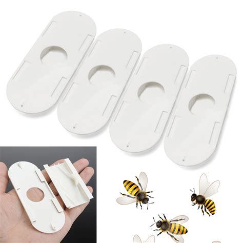 aliexpress com buy 4 piece picture running white horse 4pcs white plastic useful beekeepers porter bee escapes