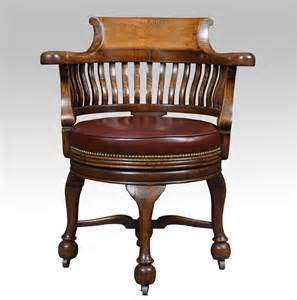 antique swivel desk victorian oak swivel desk chair antiques atlas