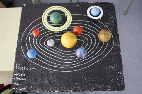 sistema solar con material reciclado maqueta sistema solar reciclado maqueta del sistema
