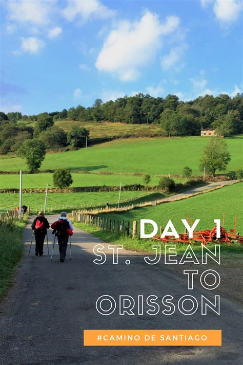 camino st walking the camino day 1 st jean pied de to