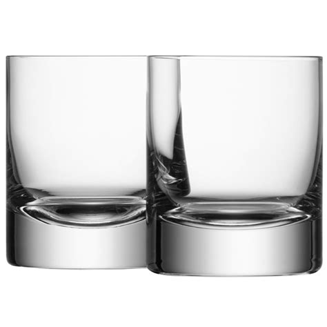 Bar Tumbler Glasses Buy Lsa International Bar Tumblers Set Of 4 Amara