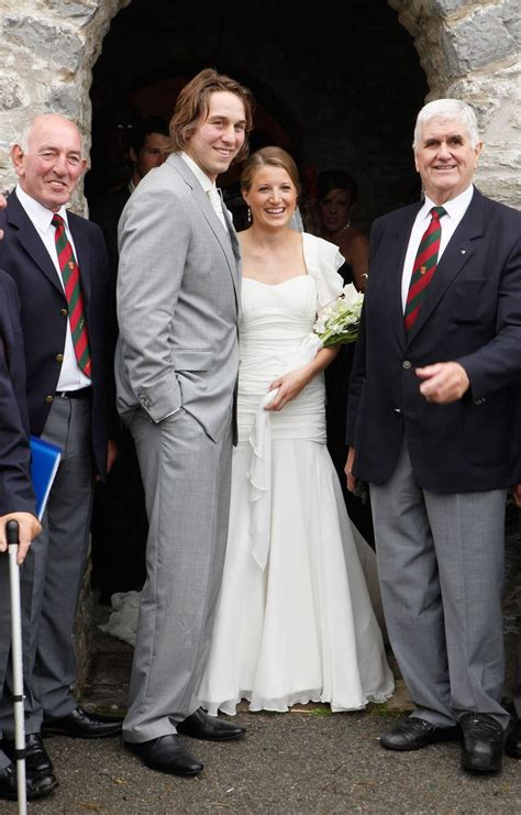 dan biggar marriage when wales rugby stars got married wales online
