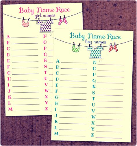 baby shower games templates free download coprinted blog 187 baby shower printable game