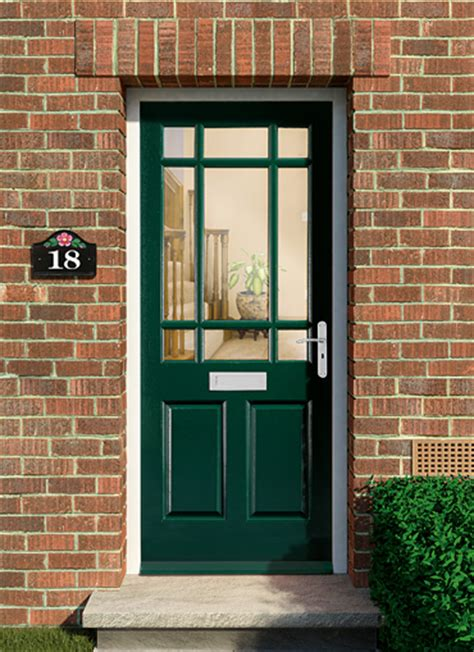 Glazed Front Doors Homeserve Securityhardwood Doors External Doors Exterior Doors Homeserve Security