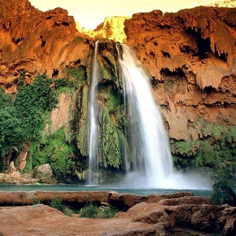 waterfalls havasu falls arizona grand canyon
