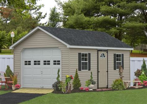a top quality prefab 1 car garage delivered within weeks