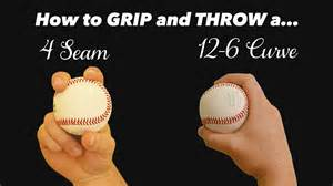 how to throw a baseball pitching grips how to throw a 4 seam fastball