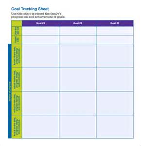 Goal Tracker Template by Sle Goal Tracking 9 Documents In Pdf Excel