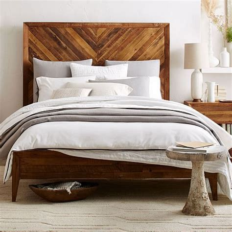 west elm reclaimed wood bed 25 best ideas about modern wood bed on pinterest solid