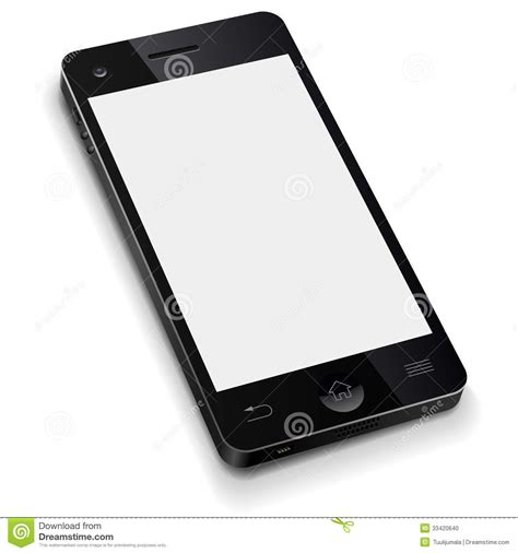 mobile photo 3d mobile phone template stock photo image 33420640