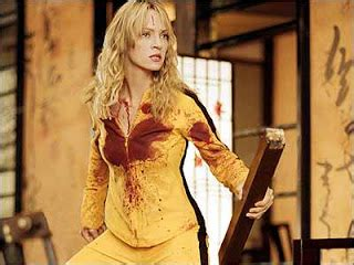uma thurman kill bill haircut best line quot i am gonna ask you questions and every time