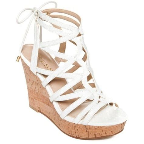 25 best ideas about white wedge shoes on